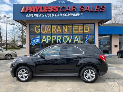 2017 Chevrolet Equinox for sale in North Charleston, SC