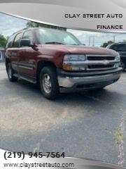 2001 Chevrolet Tahoe for sale in Lake Station, IN