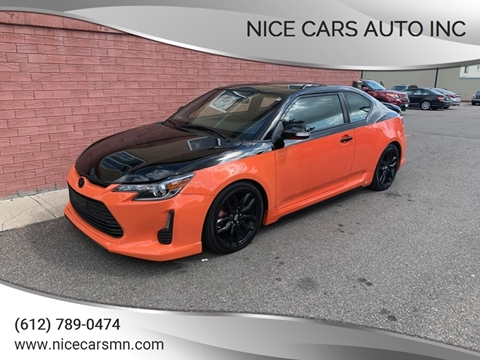 Used Cars Minneapolis >> 2015 Scion Tc For Sale In Minneapolis Mn