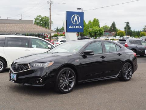 2019 Acura TLX for sale in Salem, OR