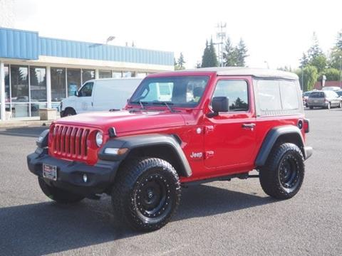 2018 Jeep Wrangler for sale in Salem, OR