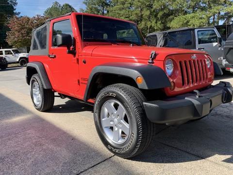 2013 Jeep Wrangler for sale in Acworth, GA