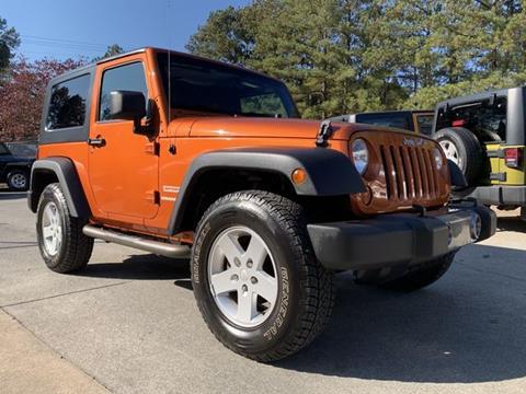 2010 Jeep Wrangler for sale in Acworth, GA
