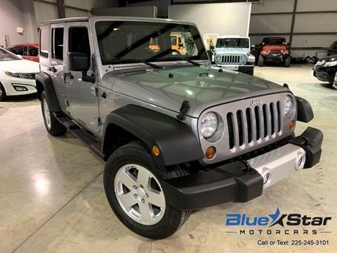 2013 Jeep Wrangler Unlimited for sale in Denham Springs, LA