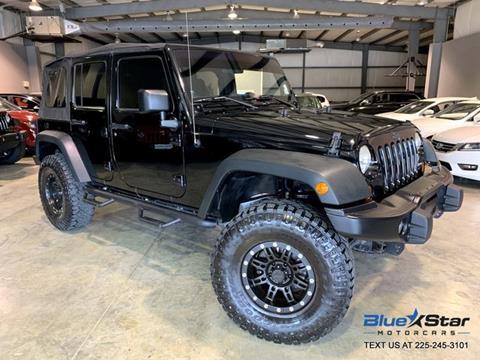 2012 Jeep Wrangler Unlimited for sale in Denham Springs, LA
