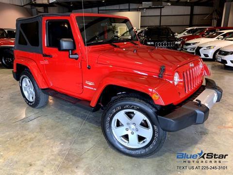2012 Jeep Wrangler for sale in Denham Springs, LA