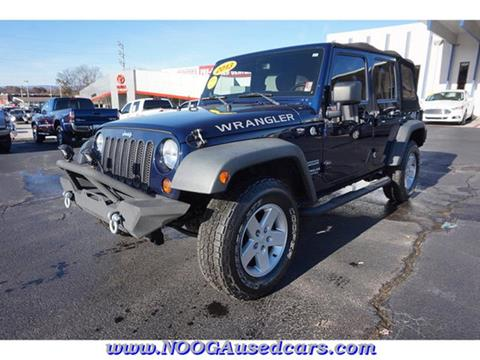 2013 Jeep Wrangler Unlimited for sale in Chattanooga, TN