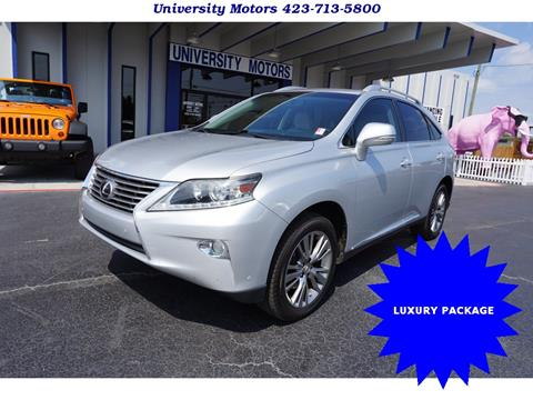 2013 Lexus RX 350 for sale in Chattanooga, TN