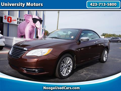 2012 Chrysler 200 Convertible for sale in Chattanooga, TN