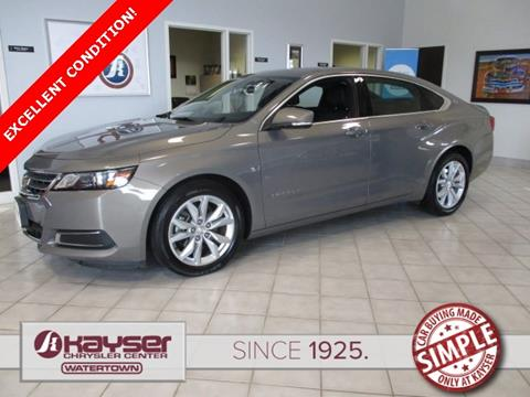 2017 Chevrolet Impala for sale in Watertown, WI