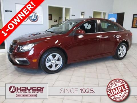 2016 Chevrolet Cruze Limited for sale in Watertown, WI