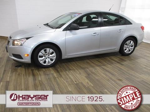 2013 Chevrolet Cruze for sale in Watertown, WI