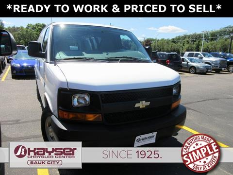 2014 Chevrolet Express Cargo for sale in Sauk City, WI