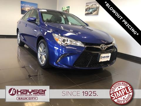 2016 Toyota Camry for sale in Sauk City, WI