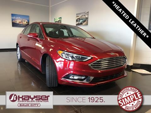 2017 Ford Fusion for sale in Sauk City, WI