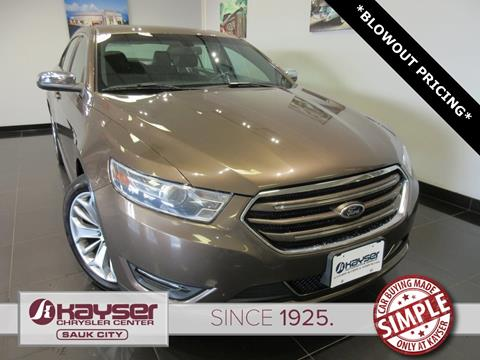 2015 Ford Taurus for sale in Sauk City, WI