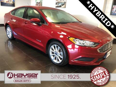Ford Fusion Hybrid For Sale >> Used Ford Fusion Hybrid For Sale In Wisconsin Carsforsale Com
