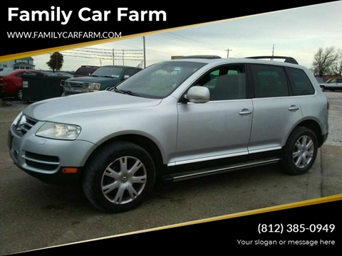 2006 Volkswagen Touareg for sale at Family Car Farm in Princeton IN