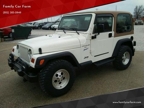 1997 Jeep Wrangler for sale in Princeton, IN