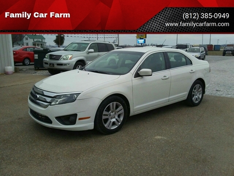 2012 Ford Fusion for sale at Family Car Farm in Princeton IN