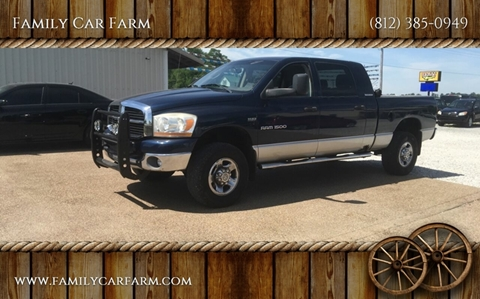 2006 Dodge Ram Pickup 1500 for sale at Family Car Farm in Princeton IN
