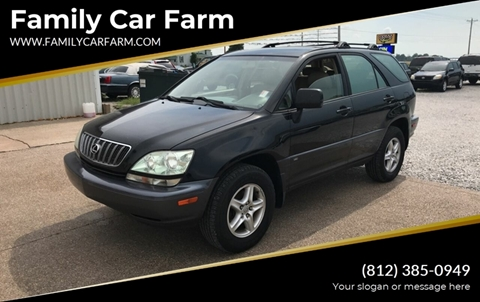 2003 Lexus RX 300 for sale at Family Car Farm in Princeton IN