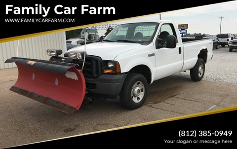 2007 Ford F-250 Super Duty for sale at Family Car Farm in Princeton IN