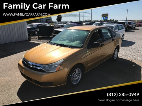 2009 Ford Focus for sale at Family Car Farm in Princeton IN
