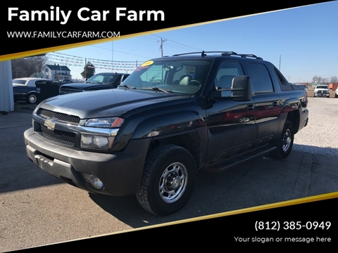 2006 Chevrolet Avalanche for sale at Family Car Farm in Princeton IN