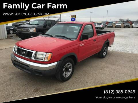 1998 Nissan Frontier for sale at Family Car Farm in Princeton IN