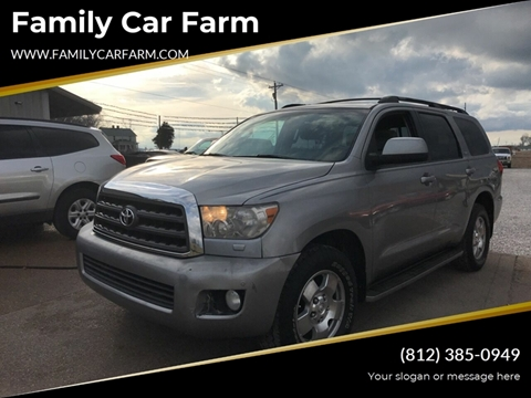 2008 Toyota Sequoia for sale at Family Car Farm in Princeton IN