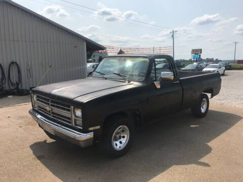 1985 Chevrolet C/K 10 Series for sale at Family Car Farm in Princeton IN