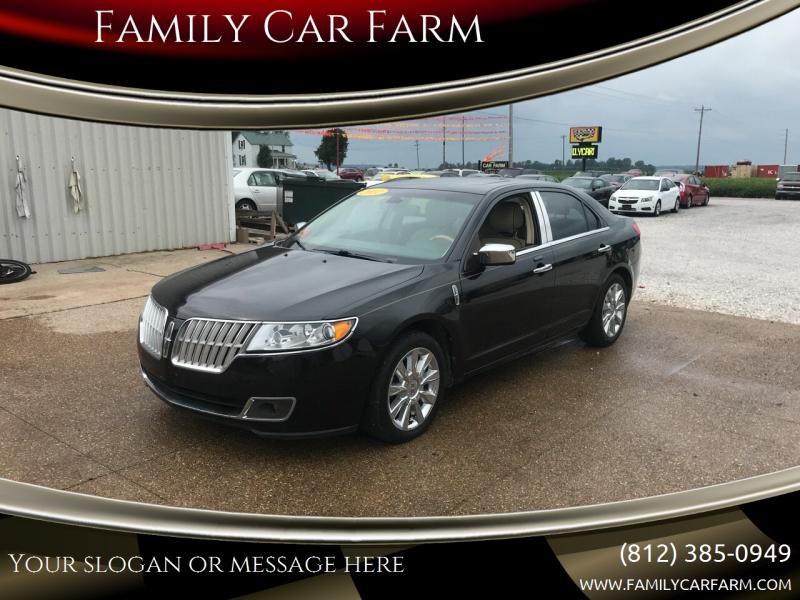 2012 Lincoln MKZ for sale at Family Car Farm in Princeton IN