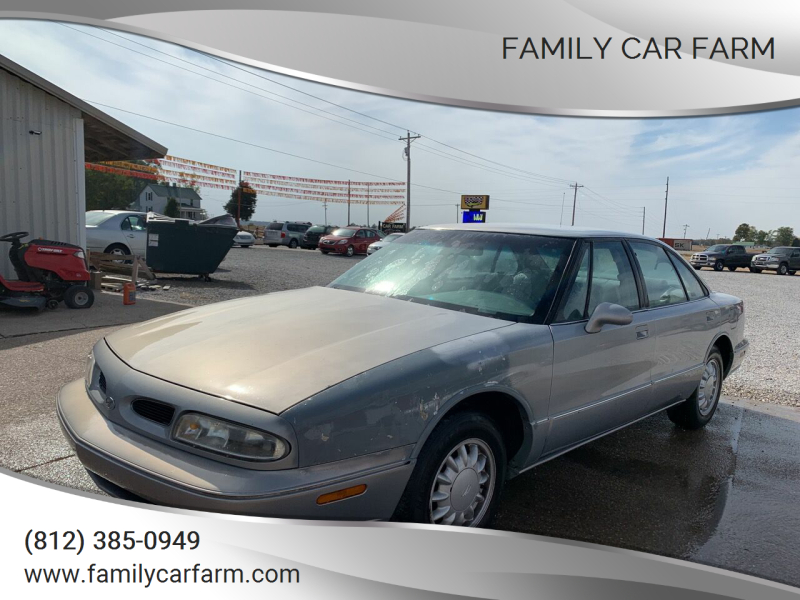 1998 Oldsmobile Eighty-Eight for sale at Family Car Farm in Princeton IN