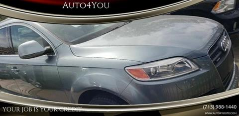 2007 Audi Q7 for sale in Houston, TX