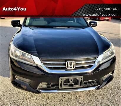 2014 Honda Accord for sale in Houston, TX