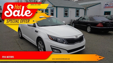 2015 Kia Optima for sale at RVA MOTORS in Richmond VA