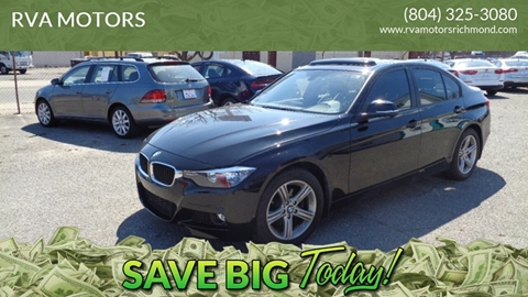 2015 BMW 3 Series for sale at RVA MOTORS in Richmond VA
