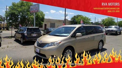 2011 Toyota Sienna for sale in Richmond, VA