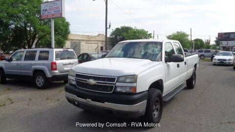 2005 Chevrolet Silverado 2500HD for sale at RVA MOTORS in Richmond VA
