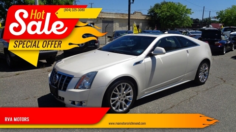 2012 Cadillac CTS for sale in Richmond, VA
