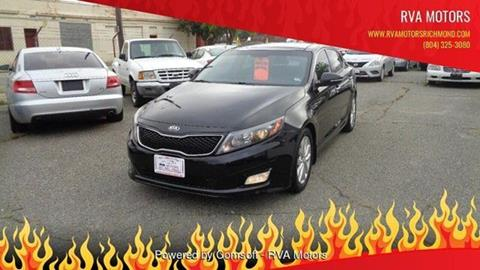 2014 Kia Optima for sale at RVA MOTORS in Richmond VA