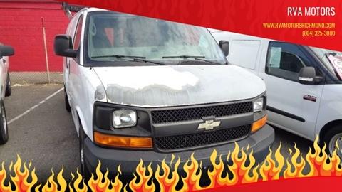 2008 Chevrolet Express Cargo for sale at RVA MOTORS in Richmond VA