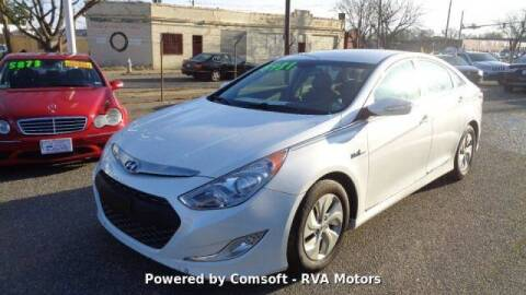 2013 Hyundai Sonata Hybrid for sale at RVA MOTORS in Richmond VA