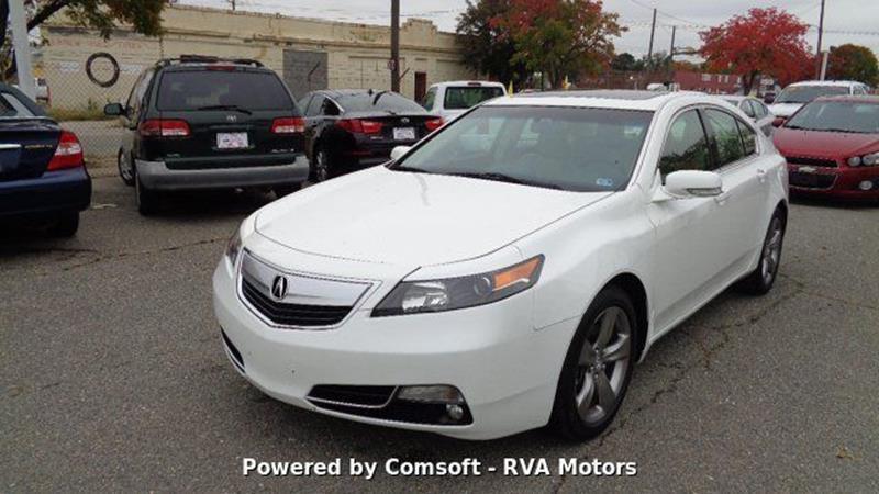 2012 Acura TL for sale at RVA MOTORS in Richmond VA