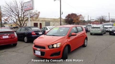 2012 Chevrolet Sonic for sale at RVA MOTORS in Richmond VA