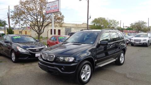 2002 BMW X5 for sale at RVA MOTORS in Richmond VA