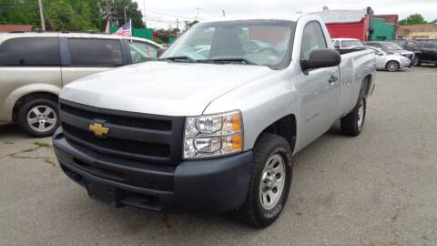 2012 Chevrolet Silverado 1500 Work Truck for sale at RVA MOTORS in Richmond VA