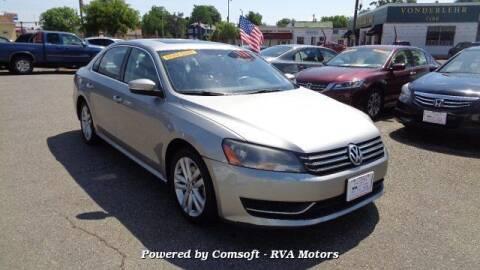2013 Volkswagen Passat for sale at RVA MOTORS in Richmond VA