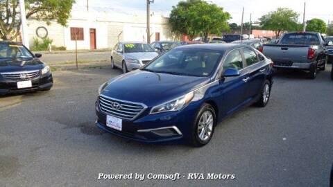 2017 Hyundai Sonata for sale at RVA MOTORS in Richmond VA